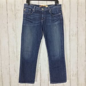 Big Star Rikki Jeans Low Rise Fit Cropped Ankle